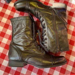Steve Madden Shoes - STEVE MADDEN Troopa Combat Boots, 8.5M